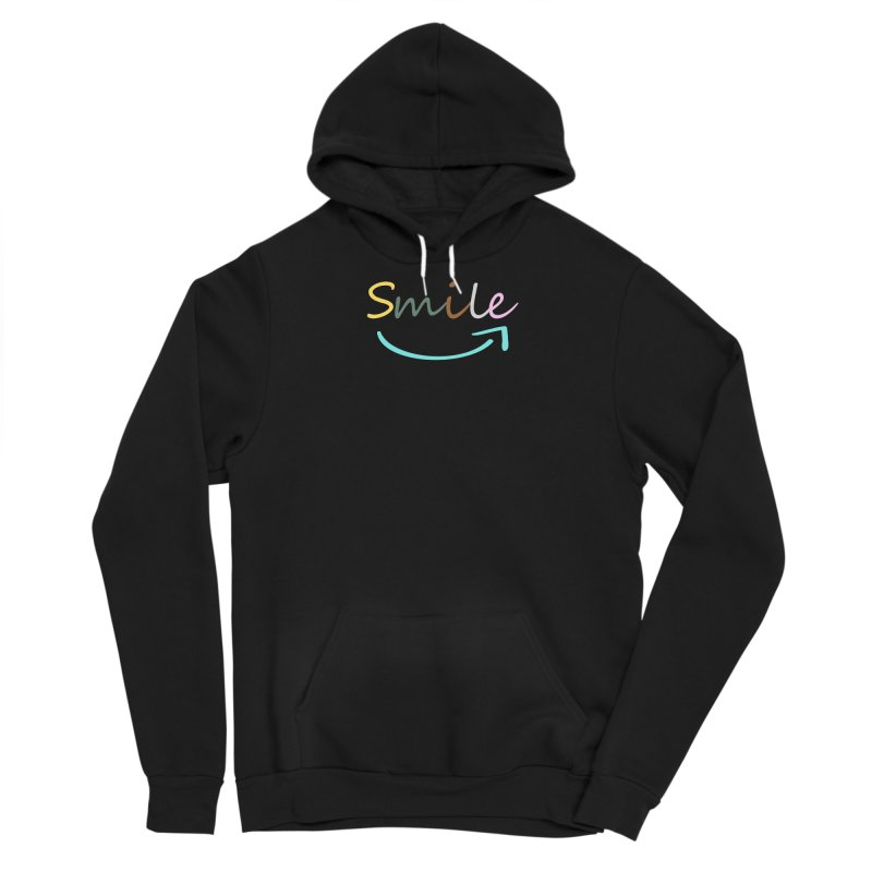 Smile Men's Pullover Hoody by All Fashioned by Nature Artist Shop