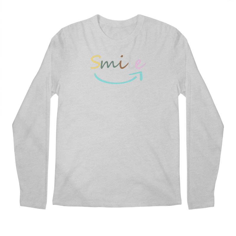 Smile Men's Longsleeve T-Shirt by All Fashioned by Nature Artist Shop