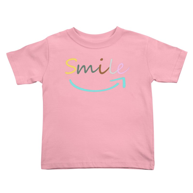 Smile Kids Toddler T-Shirt by All Fashioned by Nature Artist Shop