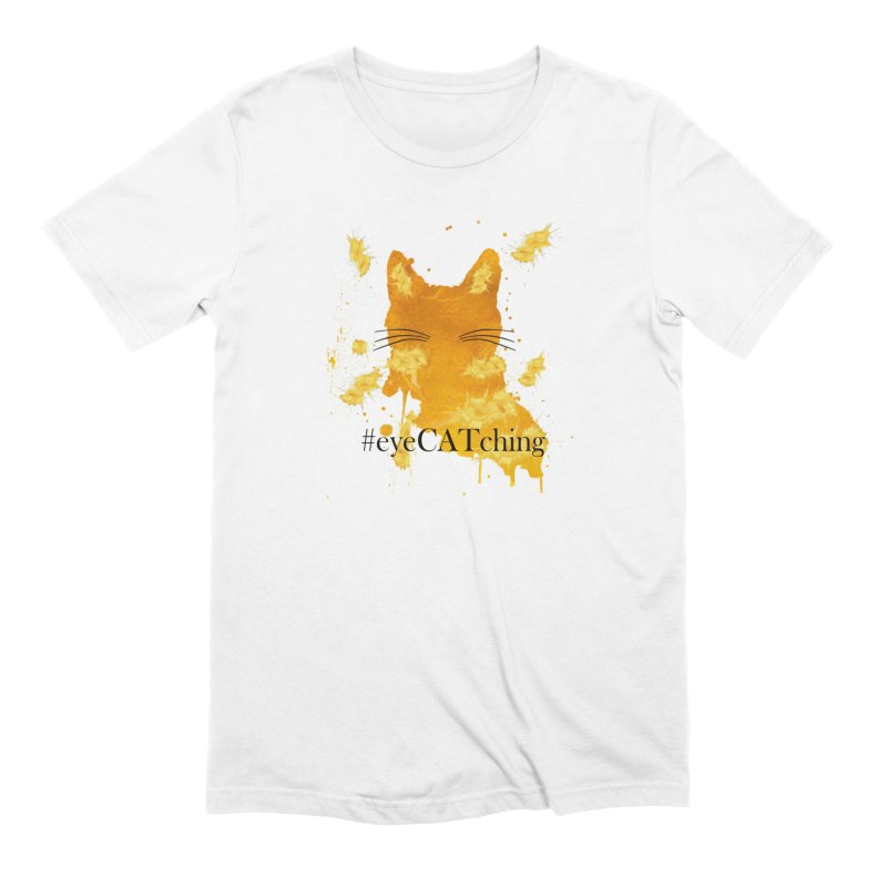 eyeCATching Men's T-Shirt by All Fashioned by Nature Artist Shop