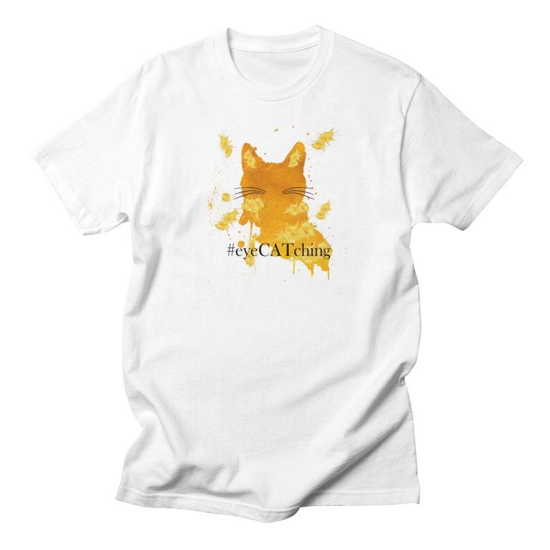 eyeCATching Men's Regular T-Shirt by FashionedbyNature's Artist Shop
