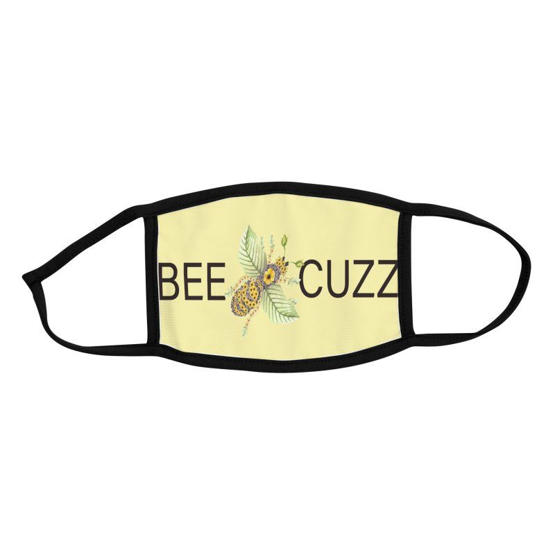 Bee Cuzz Accessories Face Mask by All Fashioned by Nature Artist Shop