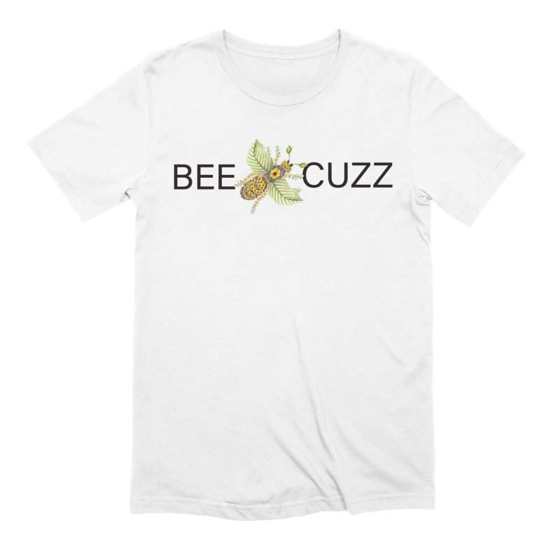 Bee Cuzz Men's T-Shirt by All Fashioned by Nature Artist Shop