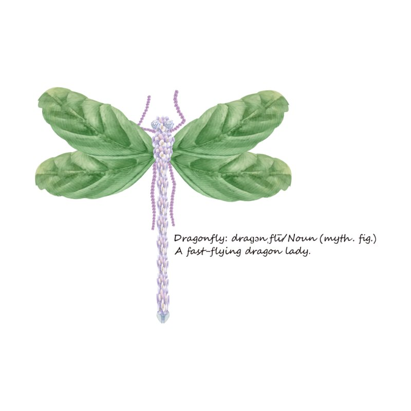 Dragonfly Accessories Greeting Card by All Fashioned by Nature Artist Shop