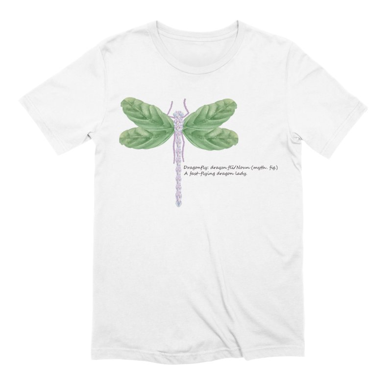 Dragonfly Men's T-Shirt by All Fashioned by Nature Artist Shop