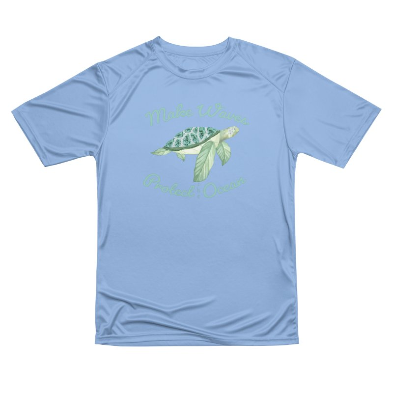 Make Waves Protect the Ocean Women's T-Shirt by All Fashioned by Nature Artist Shop