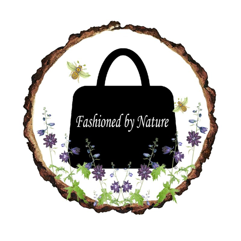 Fashioned By Nature Logo by FashionedbyNature's Artist Shop