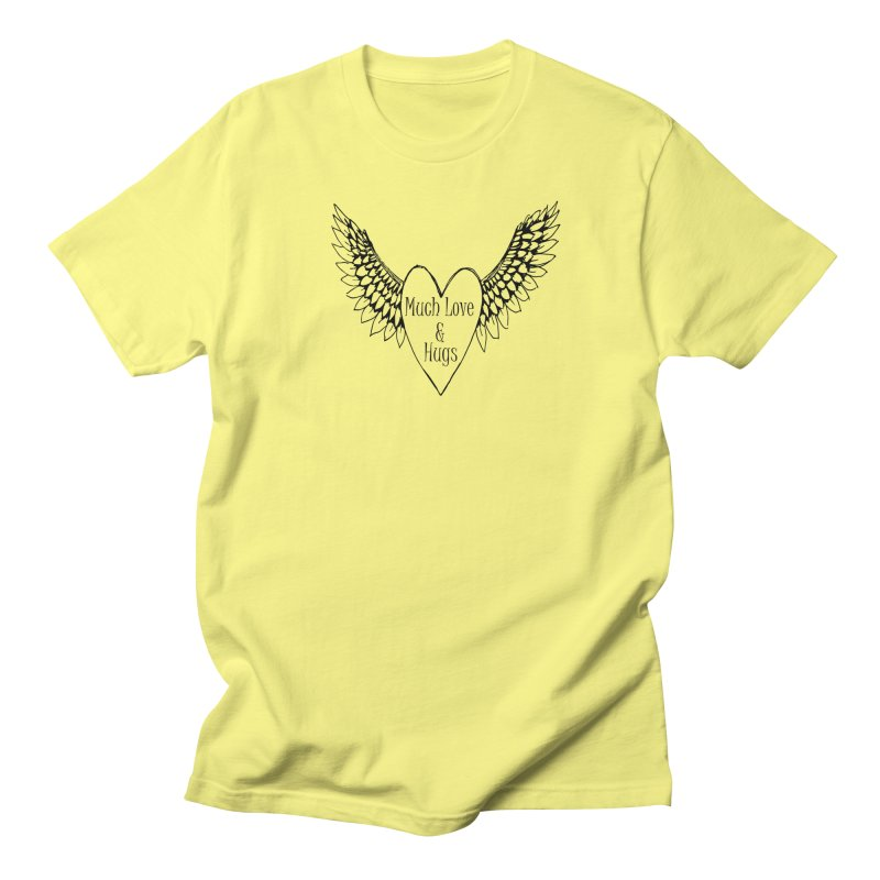 Much Love and Hugs Women's T-Shirt by All Fashioned by Nature Artist Shop