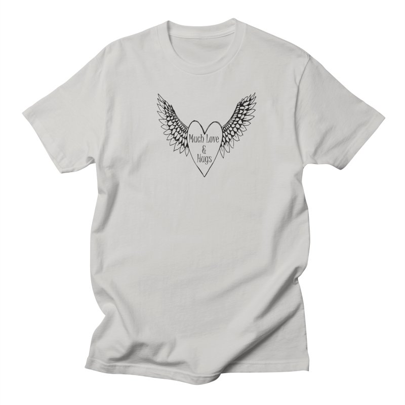 Much Love and Hugs Men's T-Shirt by All Fashioned by Nature Artist Shop