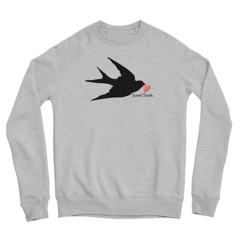 Sweet Tweets Men's Sponge Fleece Sweatshirt by FashionedbyNature's Artist Shop