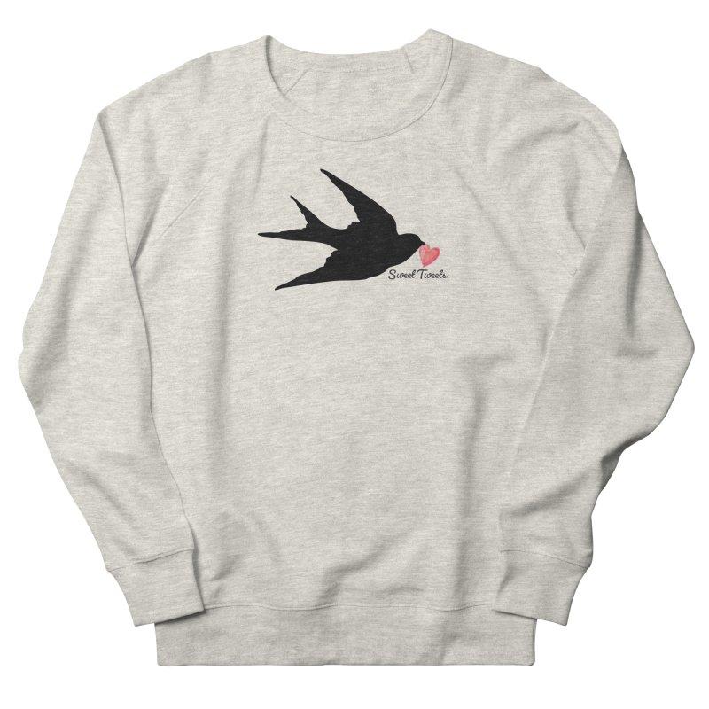Sweet Tweets Men's French Terry Sweatshirt by FashionedbyNature's Artist Shop