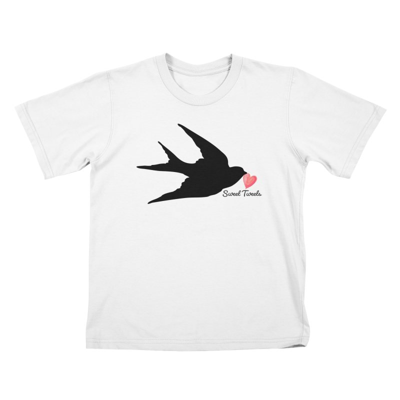 Sweet Tweets Kids T-Shirt by FashionedbyNature's Artist Shop
