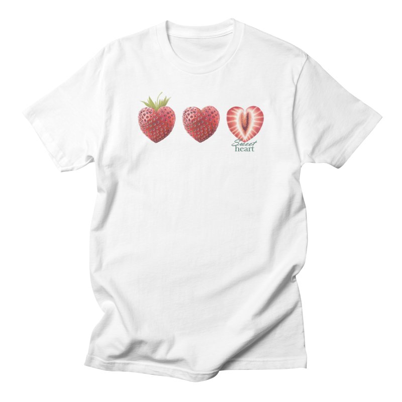 Sweet Heart Men's T-Shirt by All Fashioned by Nature Artist Shop