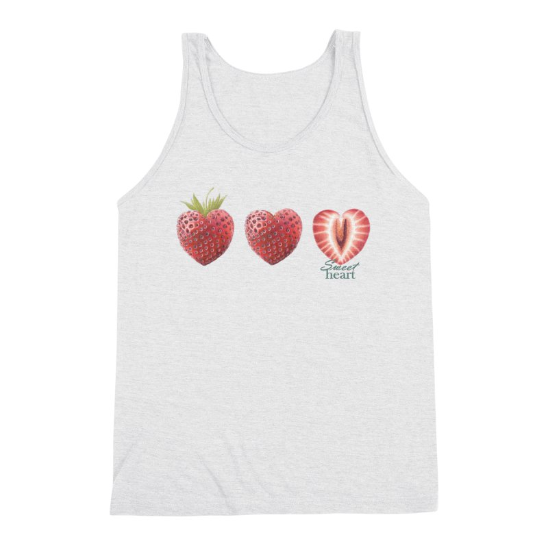 Sweet Heart Men's Tank by All Fashioned by Nature Artist Shop