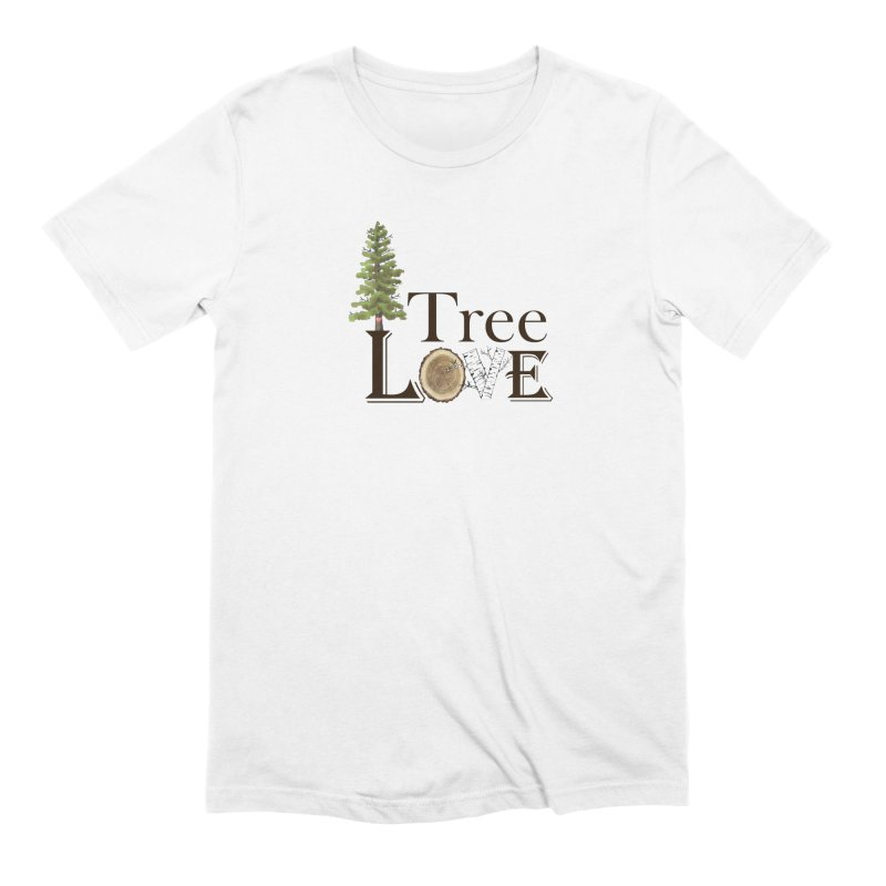 Tree Love Men's Extra Soft T-Shirt by FashionedbyNature's Artist Shop