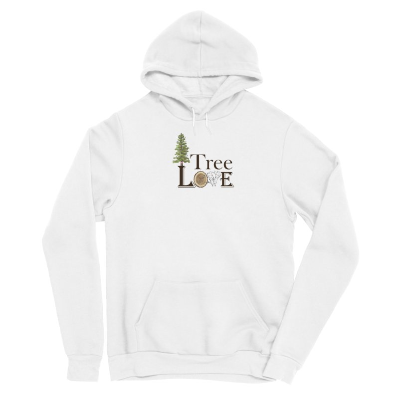 Tree Love Women's Pullover Hoody by All Fashioned by Nature Artist Shop