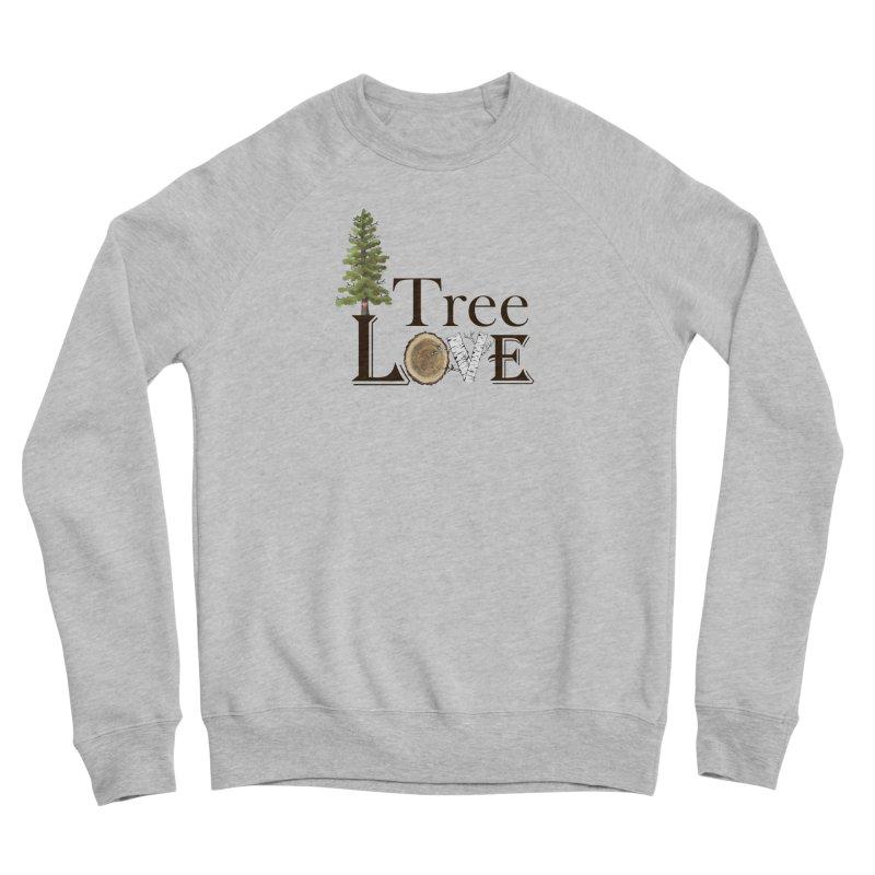 Tree Love Men's Sponge Fleece Sweatshirt by FashionedbyNature's Artist Shop