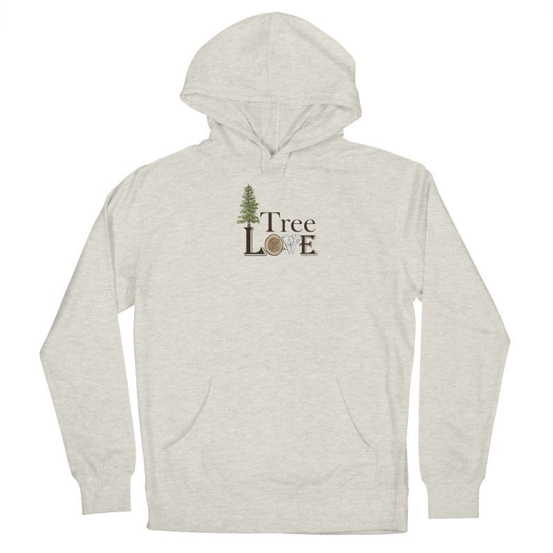 Tree Love Men's Pullover Hoody by All Fashioned by Nature Artist Shop