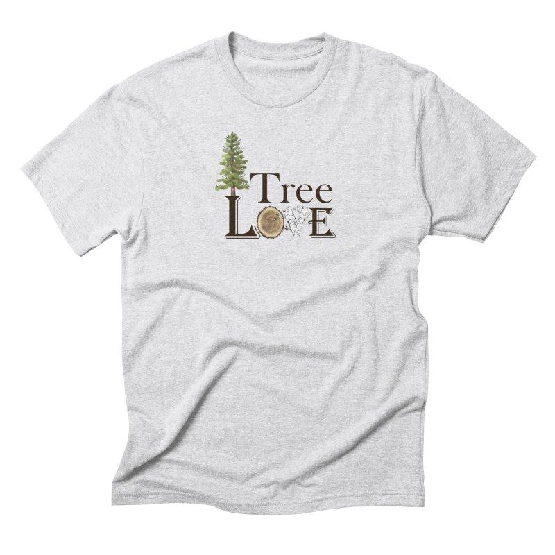 Tree Love Men's Triblend T-Shirt by FashionedbyNature's Artist Shop