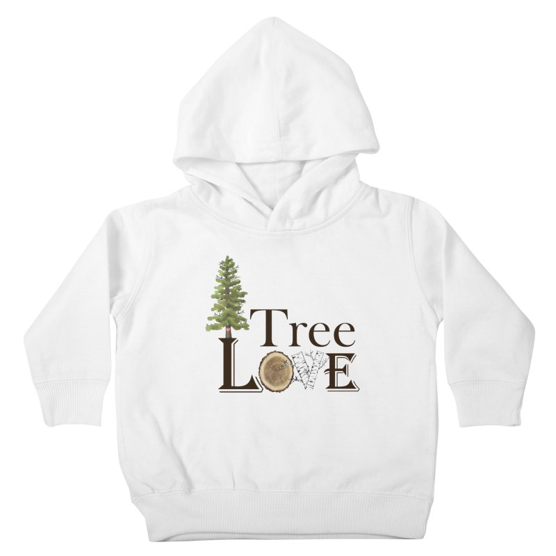 Tree Love Kids Toddler Pullover Hoody by FashionedbyNature's Artist Shop