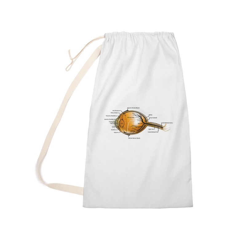 Onion Eye Accessories Bag by All Fashioned by Nature Artist Shop
