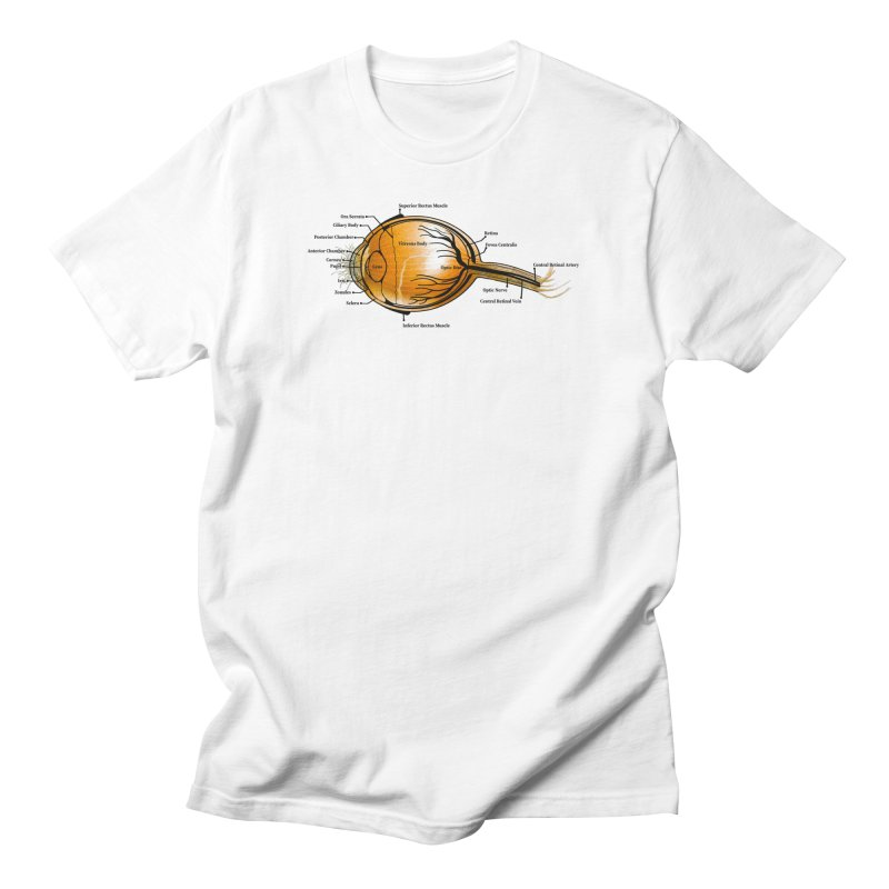 Onion Eye Men's T-Shirt by All Fashioned by Nature Artist Shop