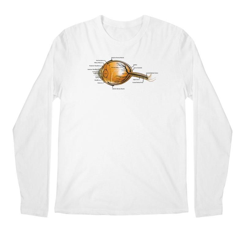 Onion Eye Men's Regular Longsleeve T-Shirt by FashionedbyNature's Artist Shop