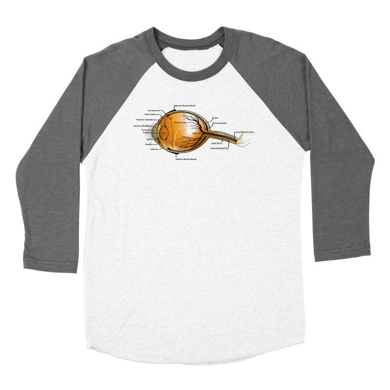 Onion Eye Men's Baseball Triblend Longsleeve T-Shirt by FashionedbyNature's Artist Shop