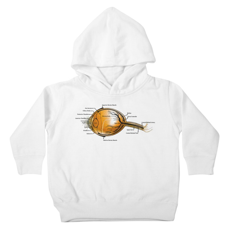 Onion Eye Kids Toddler Pullover Hoody by FashionedbyNature's Artist Shop