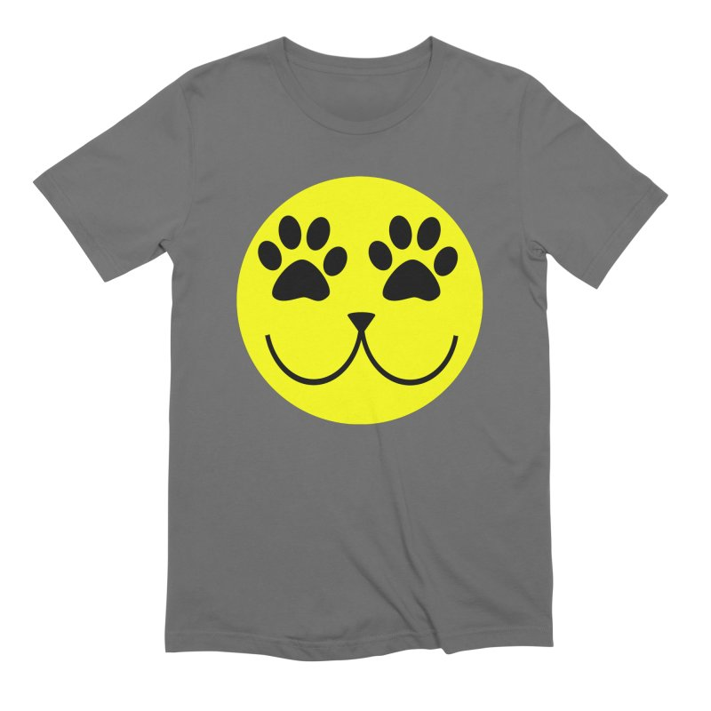 Emoji Pawsion Men's T-Shirt by All Fashioned by Nature Artist Shop