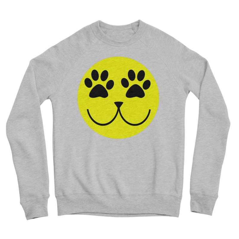 Emoji Pawsion Women's Sponge Fleece Sweatshirt by FashionedbyNature's Artist Shop
