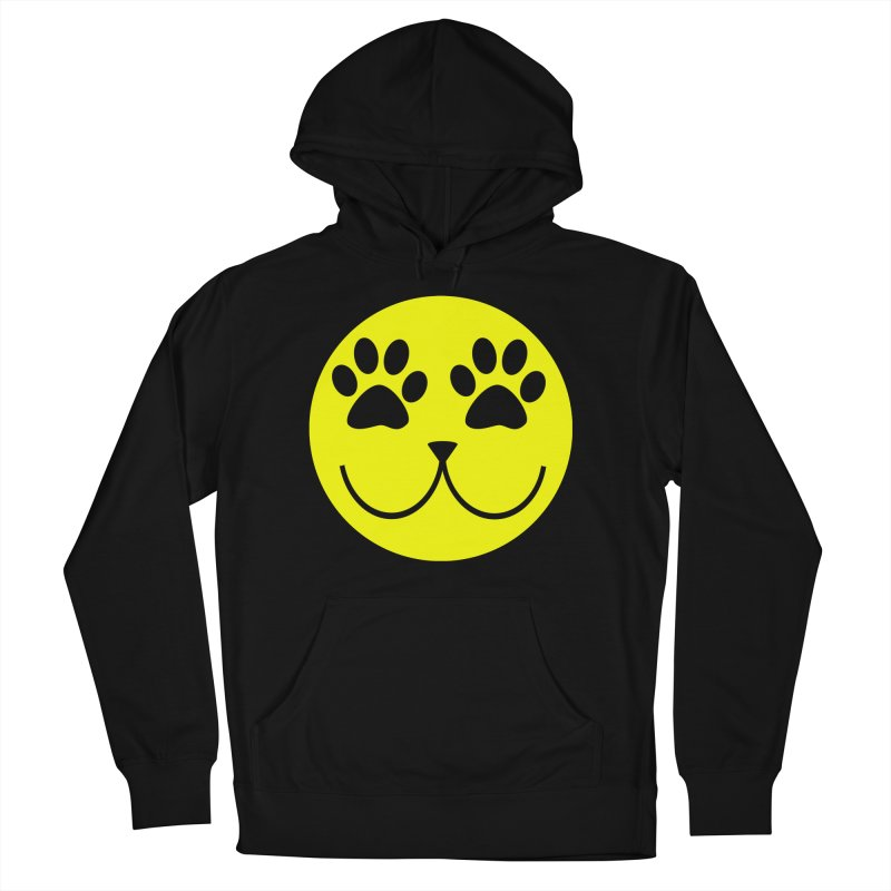Emoji Pawsion Women's French Terry Pullover Hoody by FashionedbyNature's Artist Shop