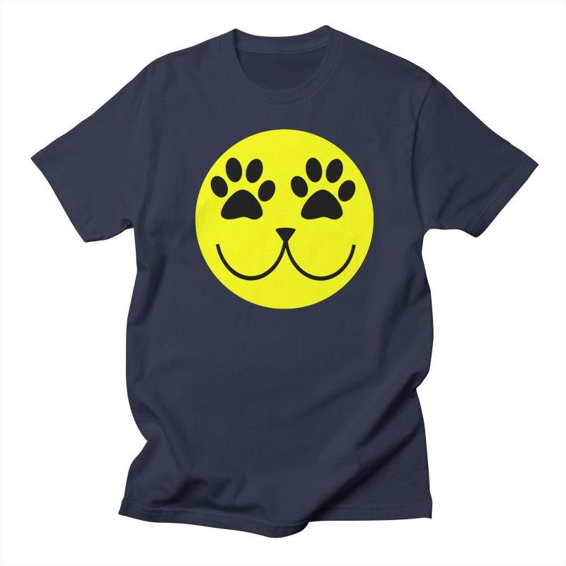 Emoji Pawsion Men's Regular T-Shirt by FashionedbyNature's Artist Shop