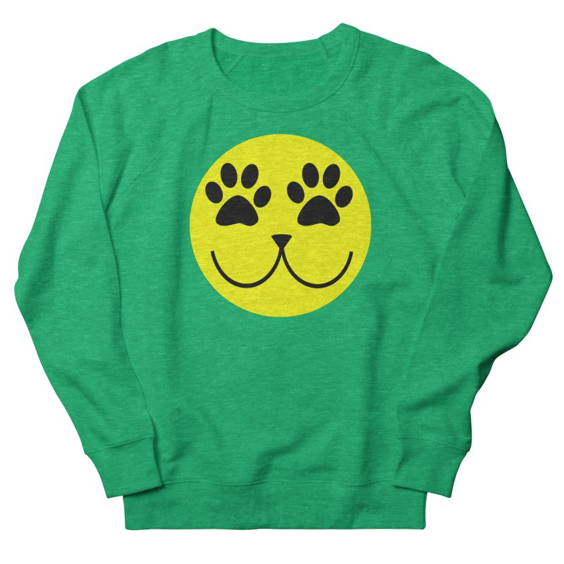 Emoji Pawsion Women's French Terry Sweatshirt by FashionedbyNature's Artist Shop