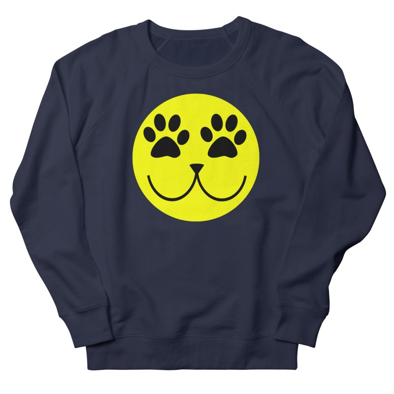 Emoji Pawsion Men's French Terry Sweatshirt by FashionedbyNature's Artist Shop