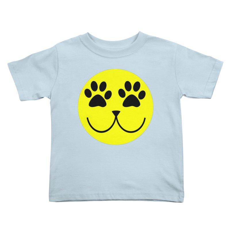 Emoji Pawsion Kids Toddler T-Shirt by FashionedbyNature's Artist Shop