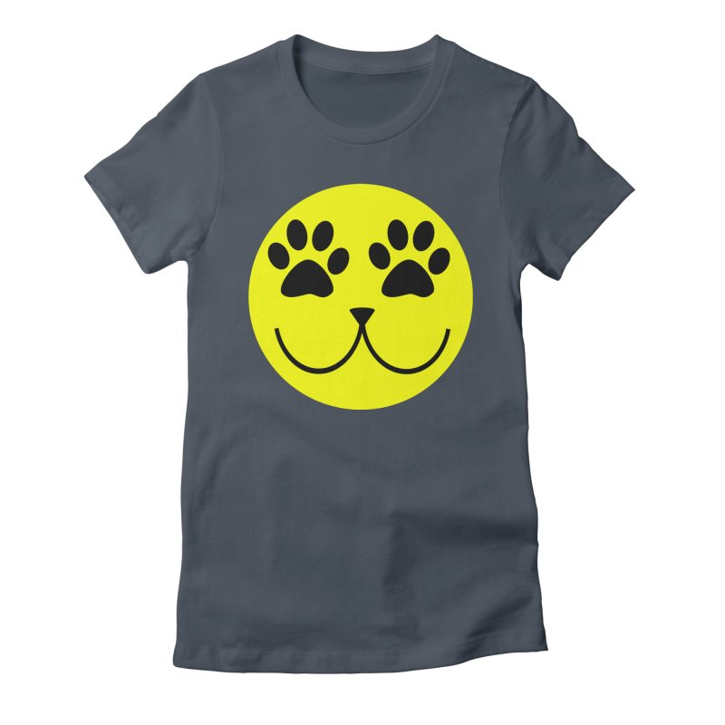 Emoji Pawsion Women's T-Shirt by All Fashioned by Nature Artist Shop