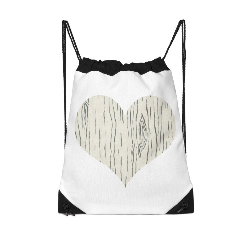 Heart of Birch Accessories Bag by All Fashioned by Nature Artist Shop
