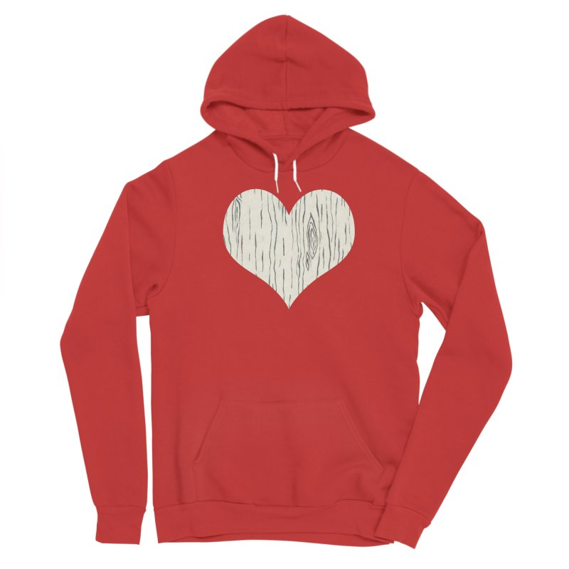 Heart of Birch Women's Pullover Hoody by All Fashioned by Nature Artist Shop