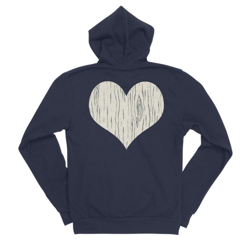 Heart of Birch Women's Sponge Fleece Zip-Up Hoody by FashionedbyNature's Artist Shop