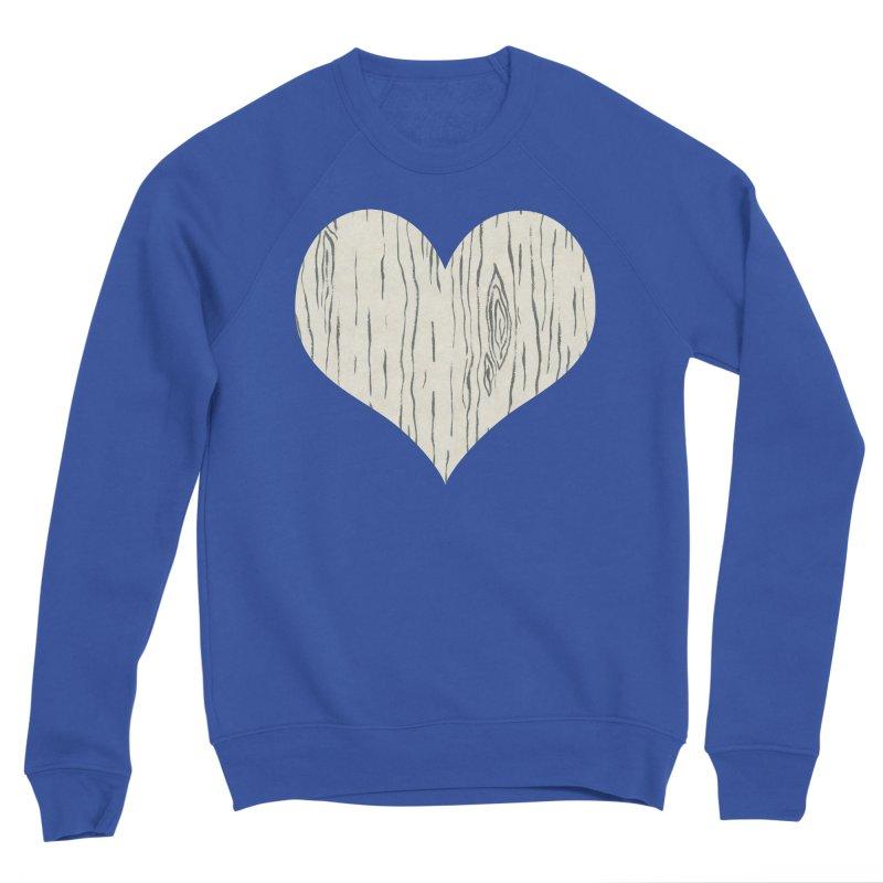 Heart of Birch Women's Sponge Fleece Sweatshirt by FashionedbyNature's Artist Shop