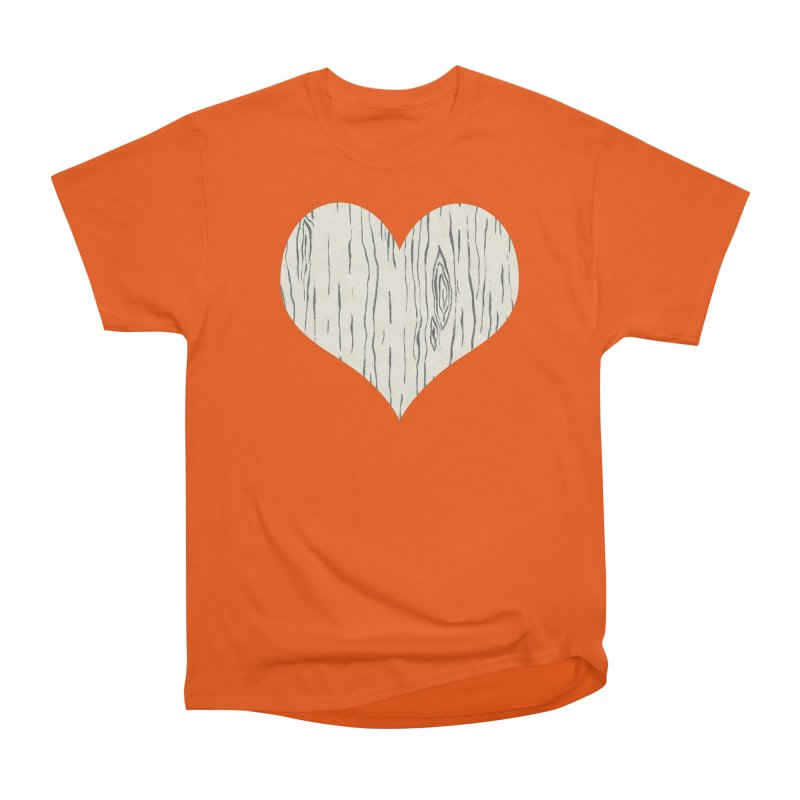 Heart of Birch Men's T-Shirt by FashionedbyNature's Artist Shop