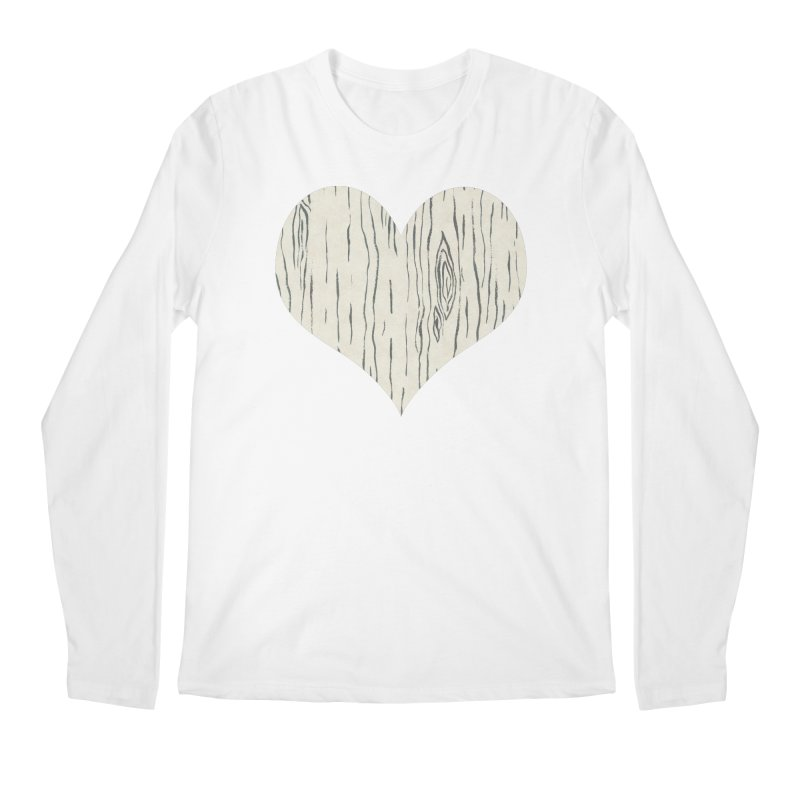 Heart of Birch Men's Regular Longsleeve T-Shirt by FashionedbyNature's Artist Shop
