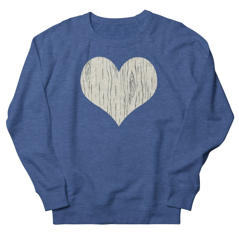 Heart of Birch Women's French Terry Sweatshirt by FashionedbyNature's Artist Shop