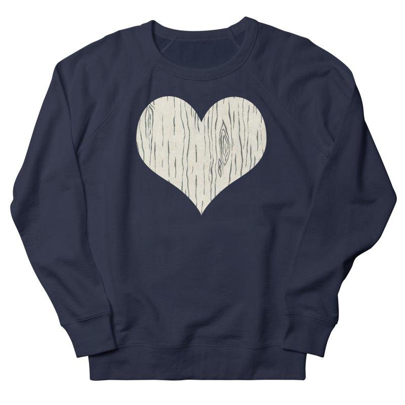Heart of Birch Men's French Terry Sweatshirt by FashionedbyNature's Artist Shop