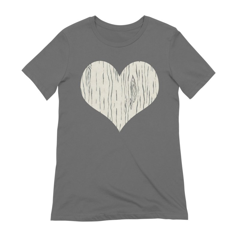 Heart of Birch Women's T-Shirt by All Fashioned by Nature Artist Shop