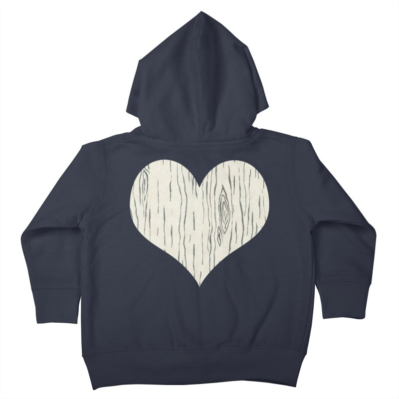 Heart of Birch Kids Toddler Zip-Up Hoody by FashionedbyNature's Artist Shop