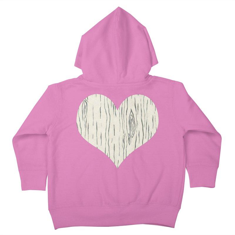 Heart of Birch Kids Toddler Zip-Up Hoody by FashionedbyNature's Artist Shop