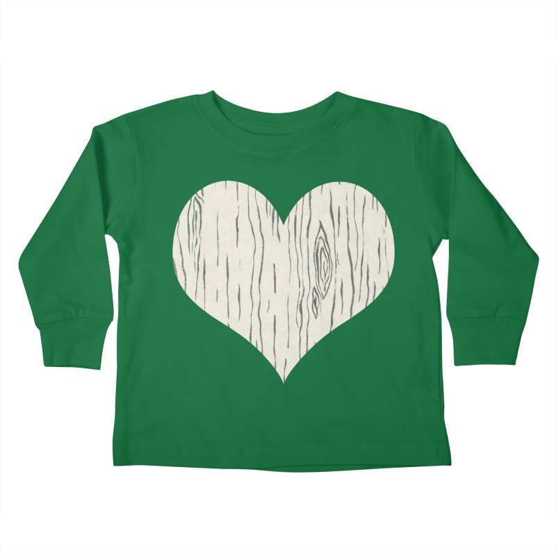 Heart of Birch Kids Toddler Longsleeve T-Shirt by FashionedbyNature's Artist Shop