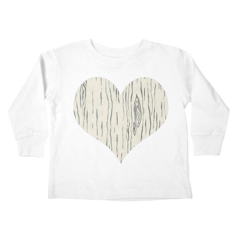 Heart of Birch Kids Toddler Longsleeve T-Shirt by FashionedbyNature's Artist Shop